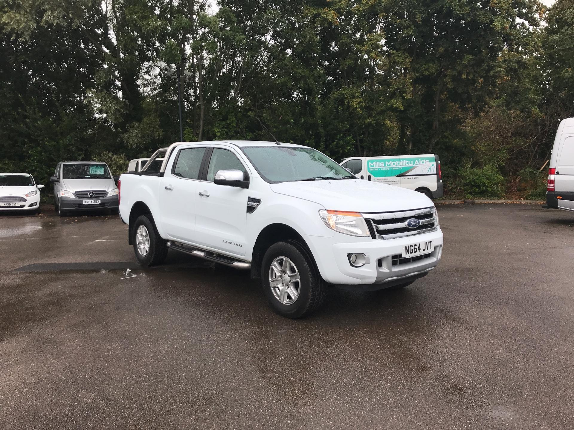 2015 Ford Ranger Double Cab Limited Pick Up  2.2 150 4WD Auto EURO 5 (NG64JVT)