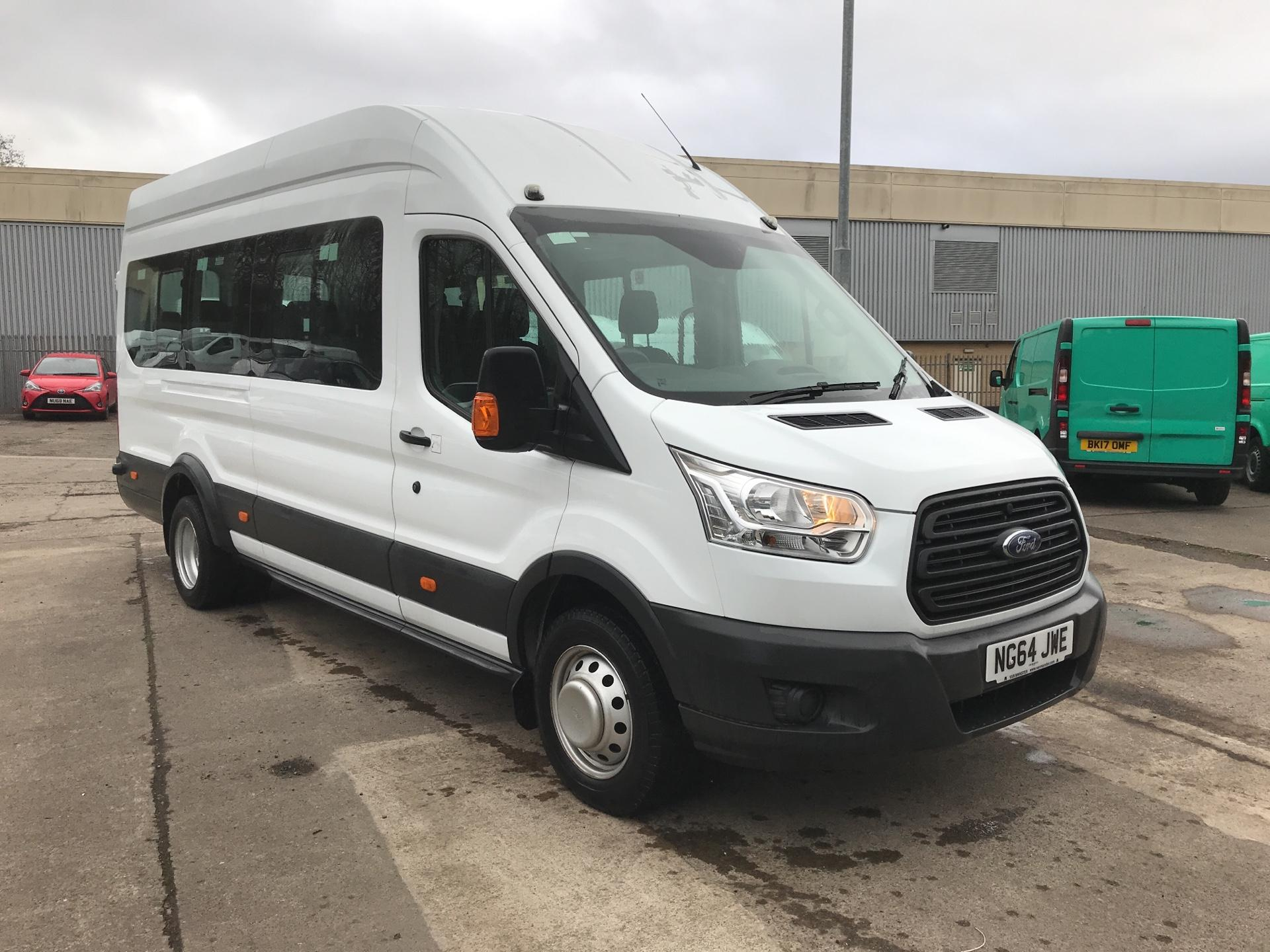 2015 Ford Transit 460 L4 H3 HIGH ROOF MINIBUS 17 SEATER 125PS EURO 6 (NG64JWE)
