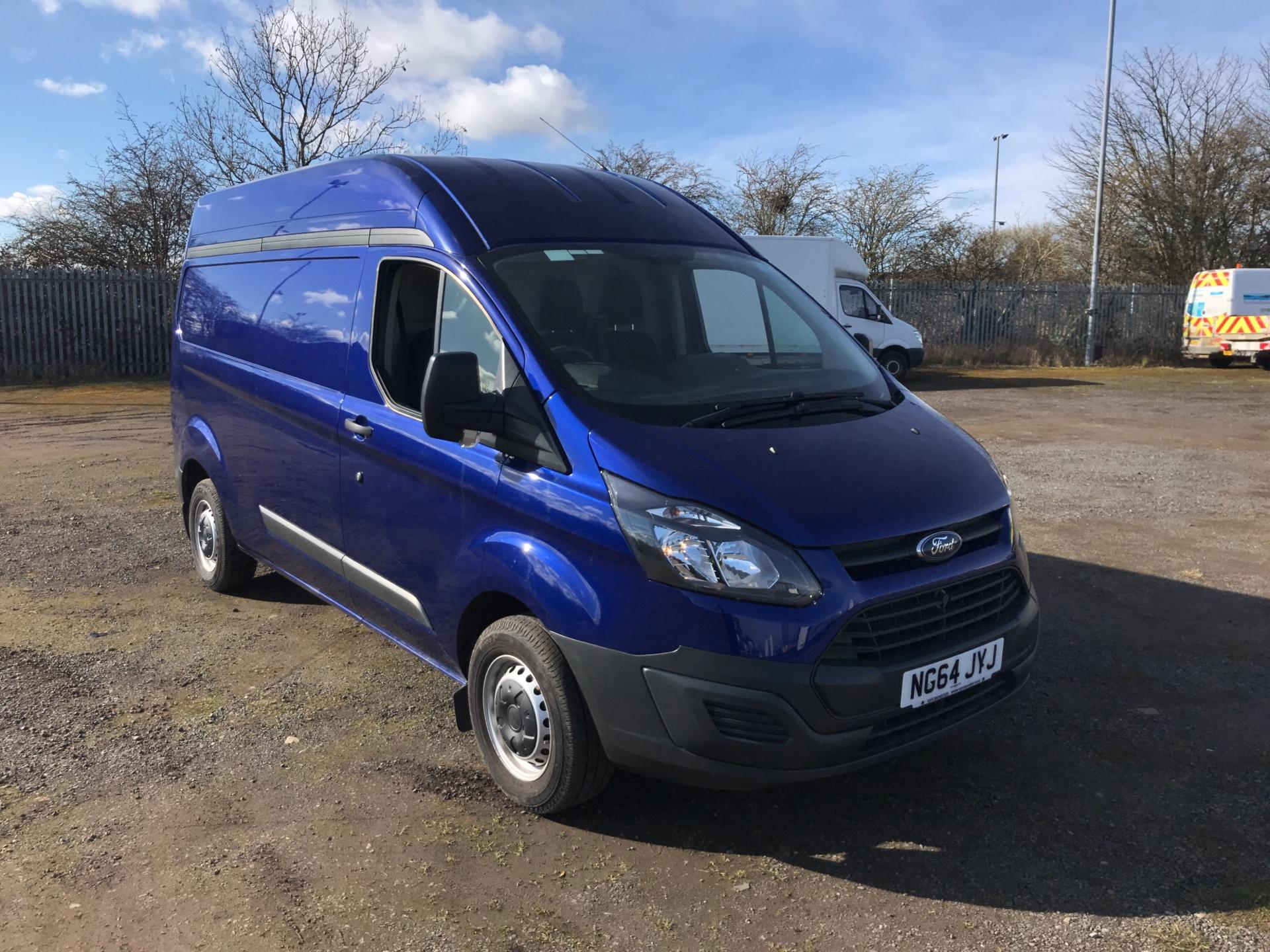 2015 Ford Transit Custom 2.2 Tdci 100Ps High Roof Van (NG64JYJ)