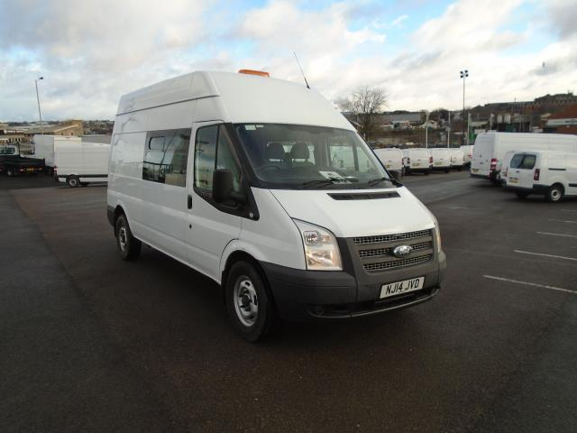 2014 Ford Transit T350 LWB HIGH ROOF VAN 100PS EURO 5 WELFARE UNIT  (NJ14JVD)