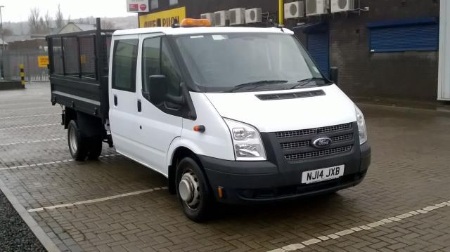 2014 Ford Transit D/Cab Chassis Tdci 100Ps [Drw] Euro 5 (NJ14JXB)