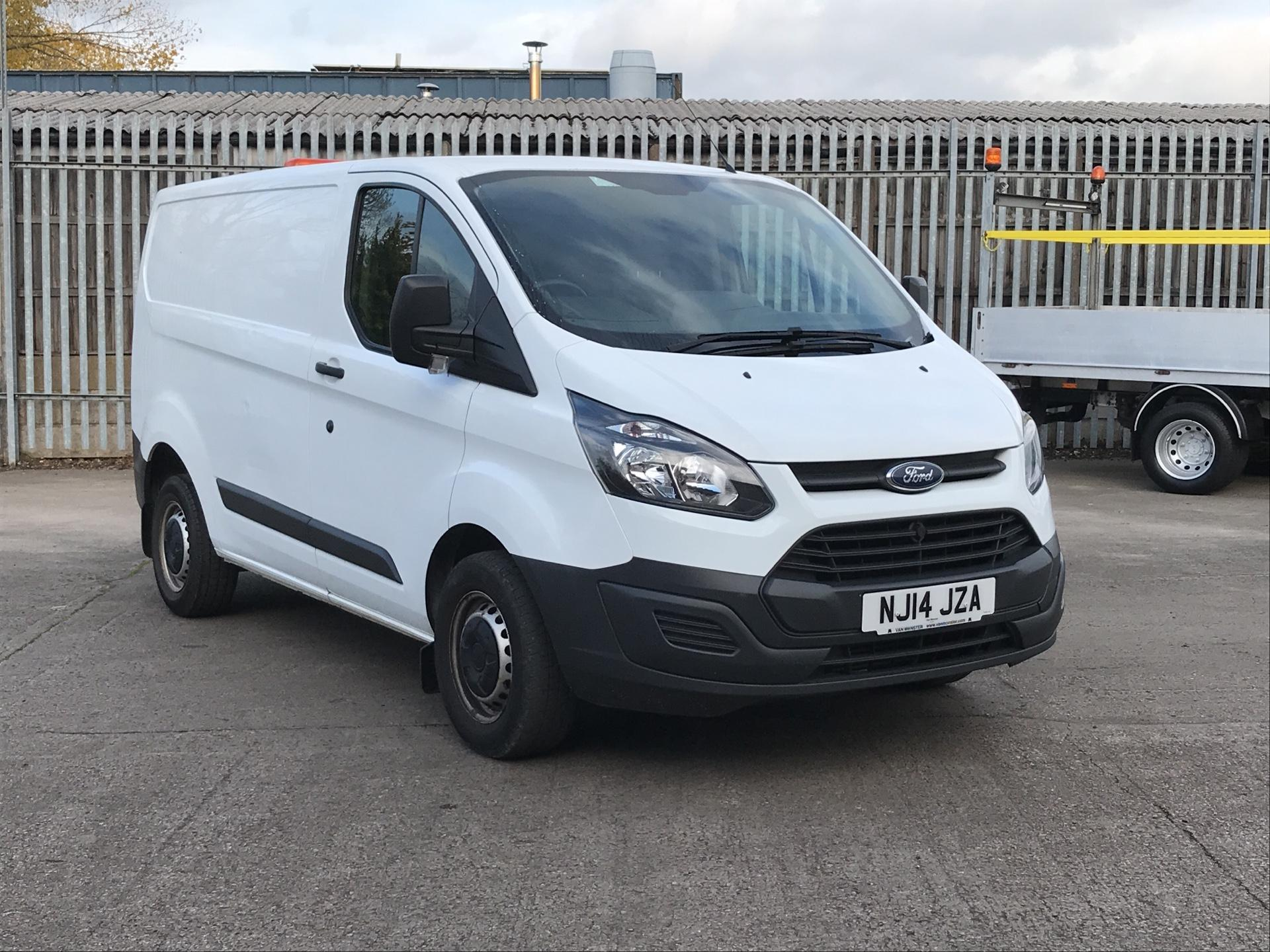 2014 Ford Transit Custom 290 L1 DIESEL FWD 2.2TDCI 100PS LOW ROOF VAN EURO 5 *VALUE RANGE VEHICLE - CONDITION REFLECTED IN PRICE* (NJ14JZA)