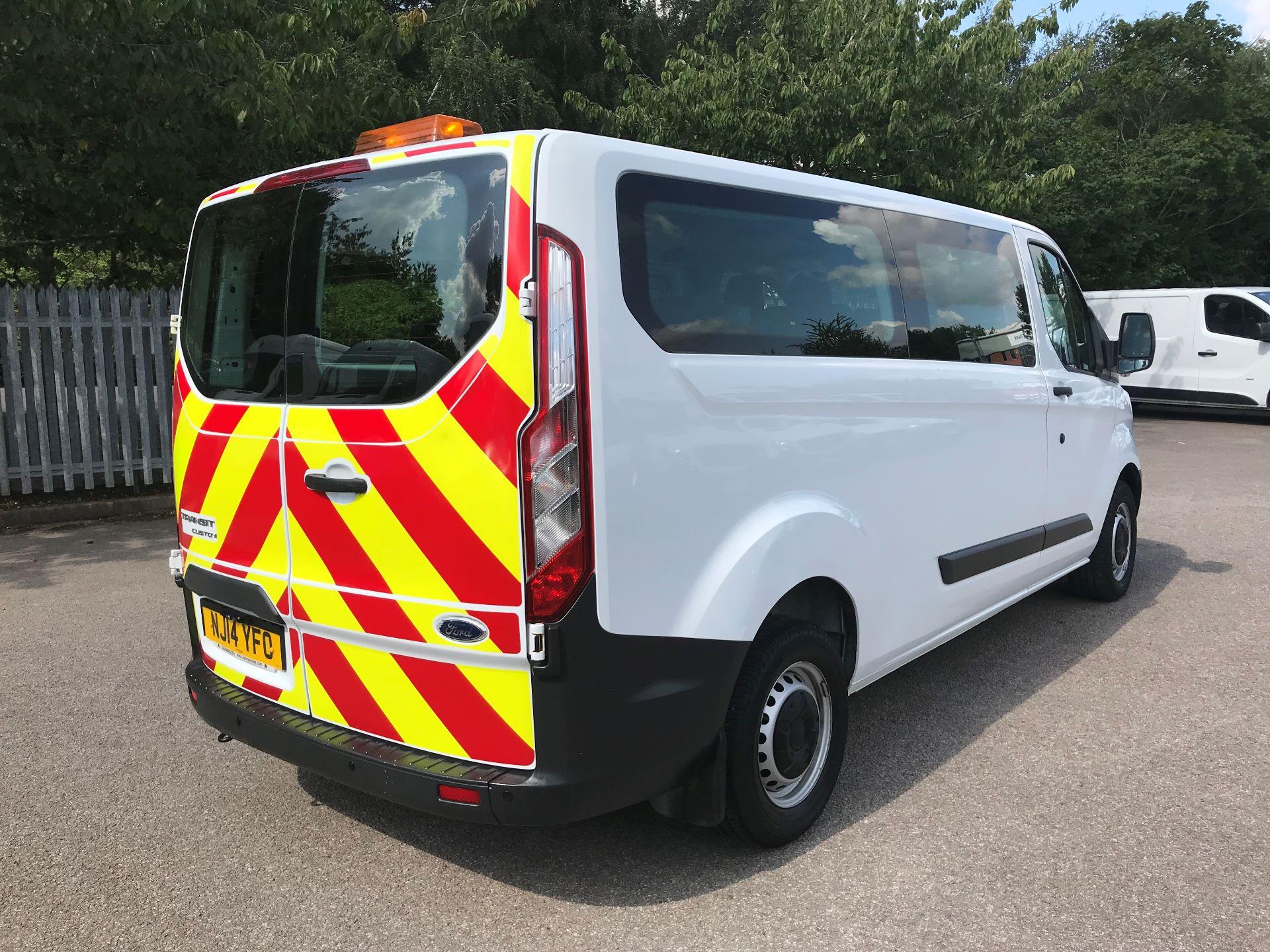 2014 Ford Transit Custom 2.2 Tdci 125Ps Low Roof Kombi Van (NJ14YFO) Image 7
