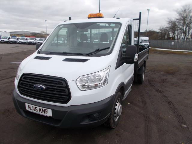 2015 Ford Transit  350 L2 SINGLE CAB TIPPER 100PS EURO 5 (NJ15KNF) Image 3