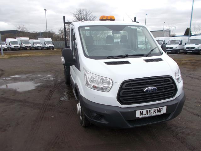 2015 Ford Transit  350 L2 SINGLE CAB TIPPER 100PS EURO 5 (NJ15KNF) Image 1