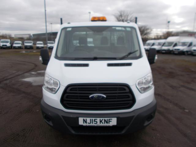 2015 Ford Transit  350 L2 SINGLE CAB TIPPER 100PS EURO 5 (NJ15KNF) Image 2