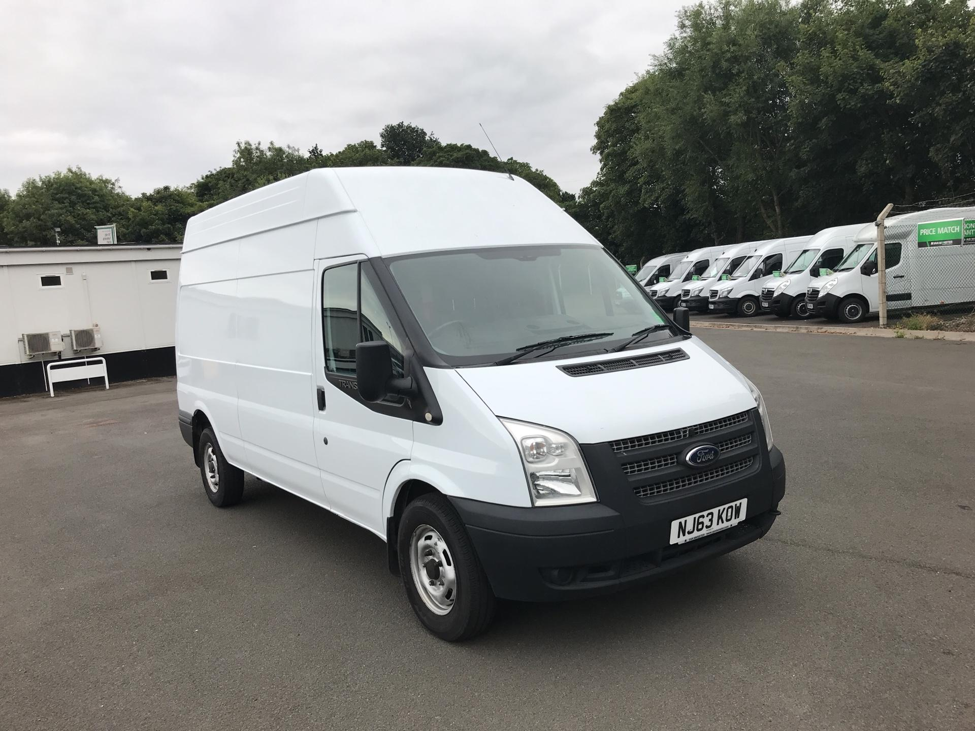 2013 Ford Transit T350 LWB HIGH ROOF VAN 125PS EURO 5 (NJ63KOW)