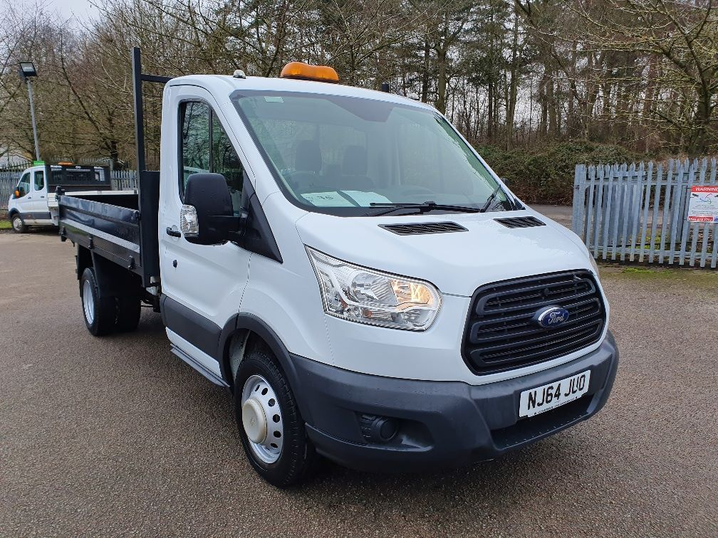 2014 Ford Transit  350 L2 SINGLE CAB TIPPER 100PS EURO 5 (NJ64JUO)