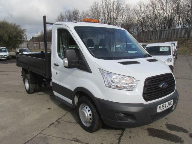 2014 Ford Transit 350 L2 2.2 Tdci 100PS S/Cab Tipper (NJ64JVK)