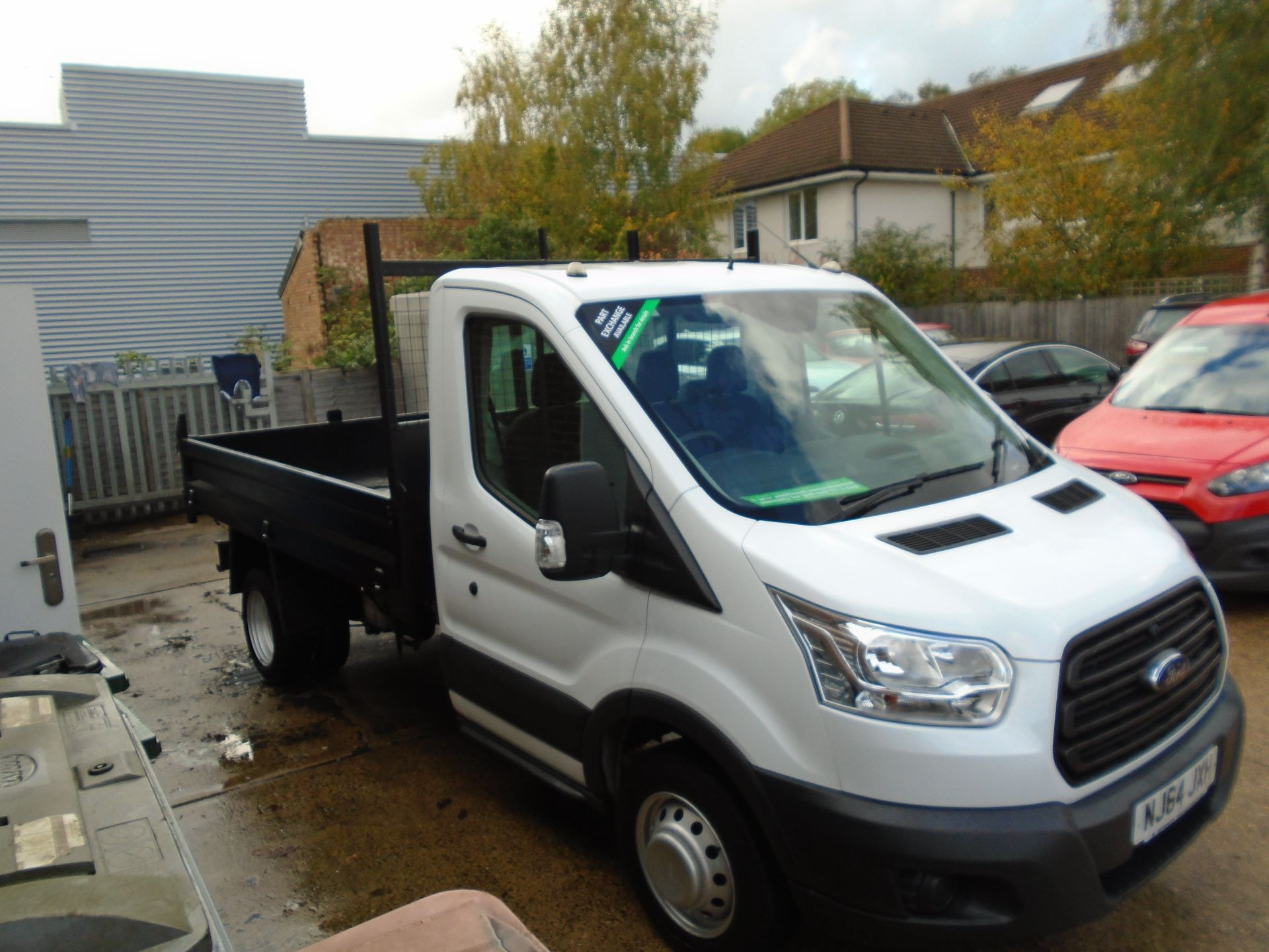 2014 Ford Transit 2.2 Tdci 100Ps Chassis Cab(EURO 5) (NJ64JXH)