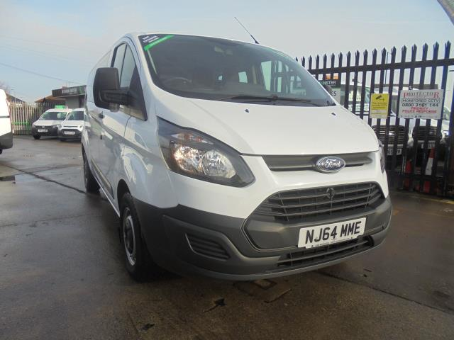 2014 Ford Transit Custom 310  L2 DIESEL FWD 2.2 TDCI 125PS LOW ROOF KOMBI VAN EURO 5 VAT INC (NJ64MME)
