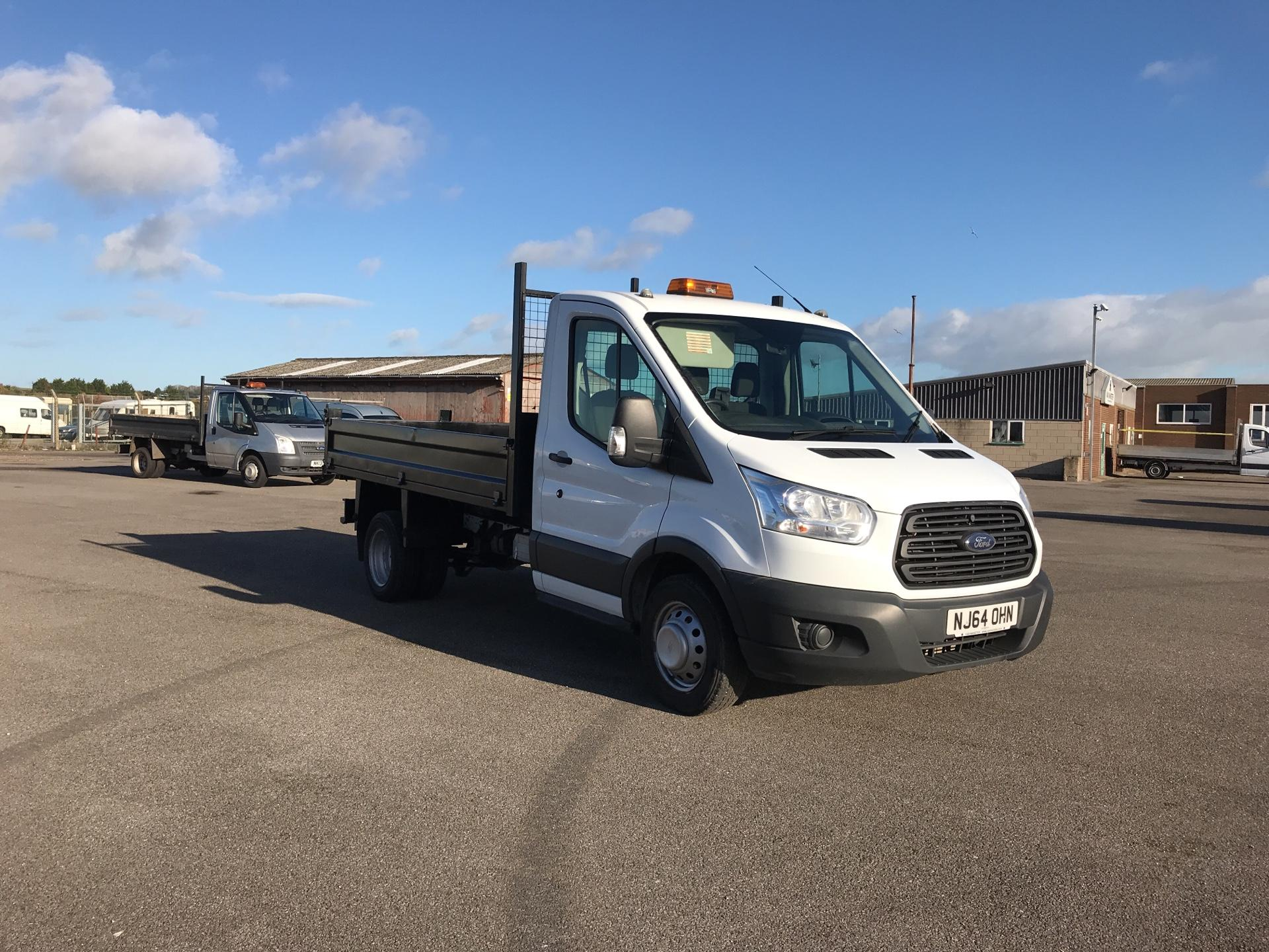 2014 Ford Transit 350 L2 SINGLE CAB TIPPER 100PS EURO 5 (NJ64OHN)
