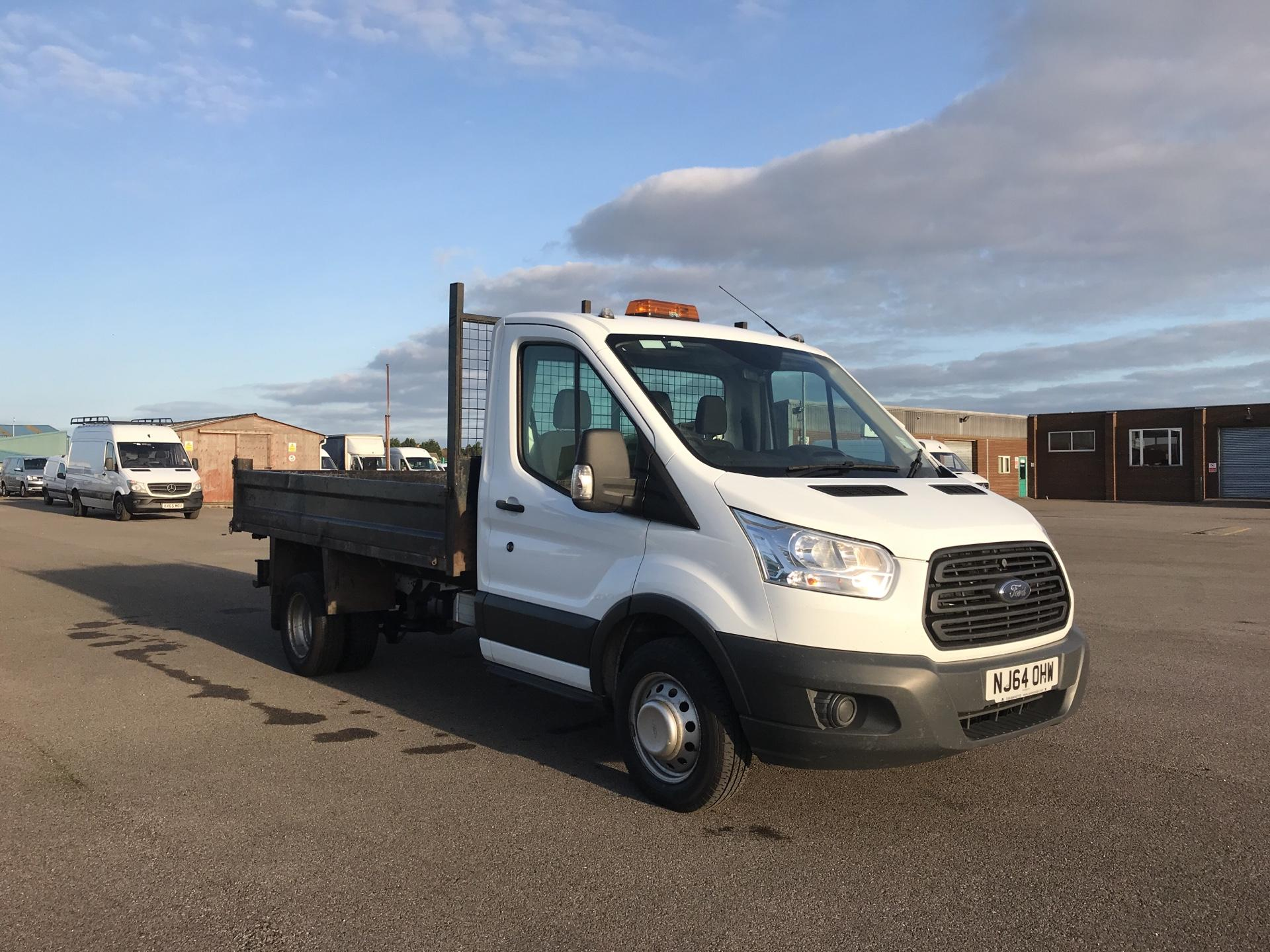 2014 Ford Transit 350 L2 SINGLE CAB TIPPER 100PS EURO 5. VALUE RANGE VEHICLE - CONDITION REFLECTED IN PRICE (NJ64OHW)