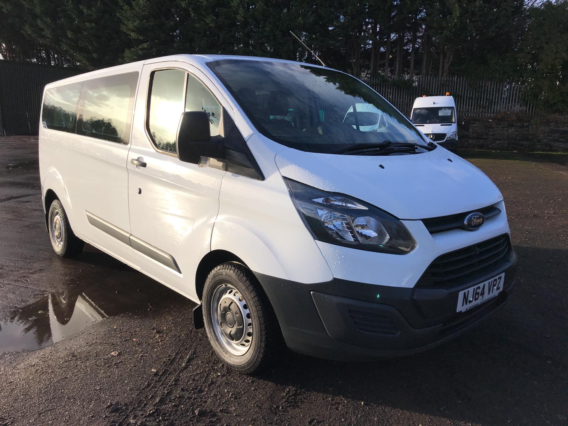 2014 Ford Transit Custom 310 L2 DIESEL FWD 2.2 TDCI 125PS LOW ROOF KOMBI EURO 5 (VALUE RANGE VEHICLE - CONDITION REFLECTED IN PRICE) (NJ64VPZ)