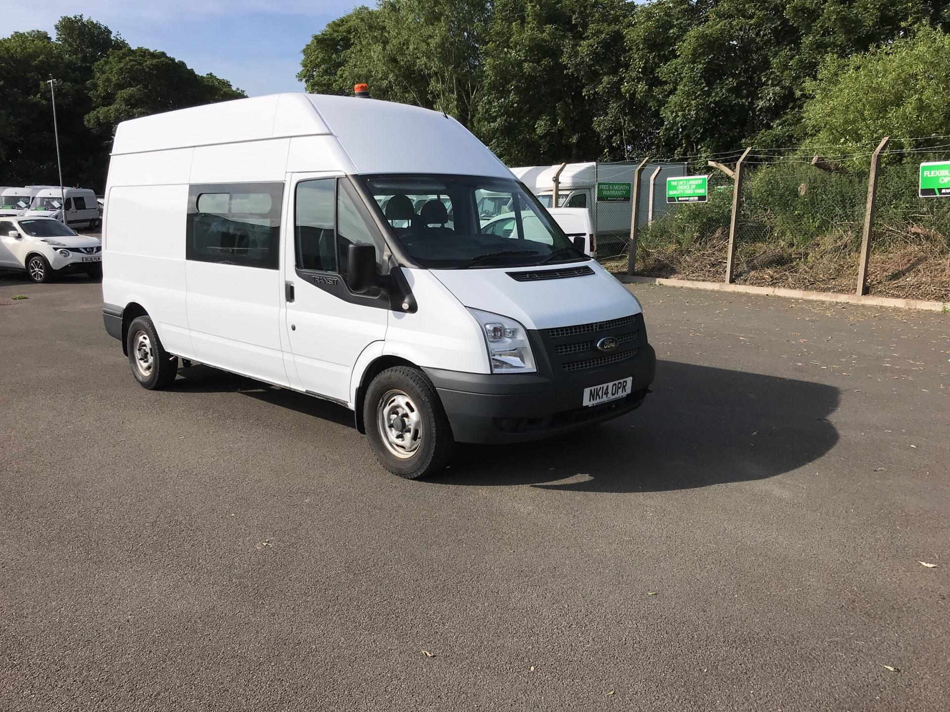 2014 Ford Transit T350 LWB HIGH ROOF WELFARE VAN 100PS EURO 5 (NK14OPR)