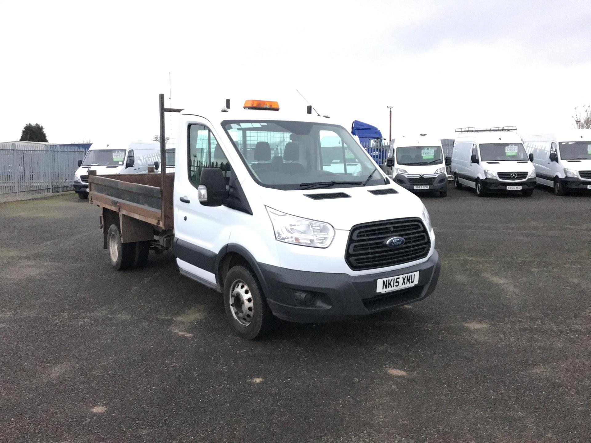 2015 Ford Transit  350 L2 SINGLE CAB TIPPER 125PS EURO 5 *VALUE RANGE VEHICLE - CONDITION REFLECTED IN PRICE* (NK15XMU)