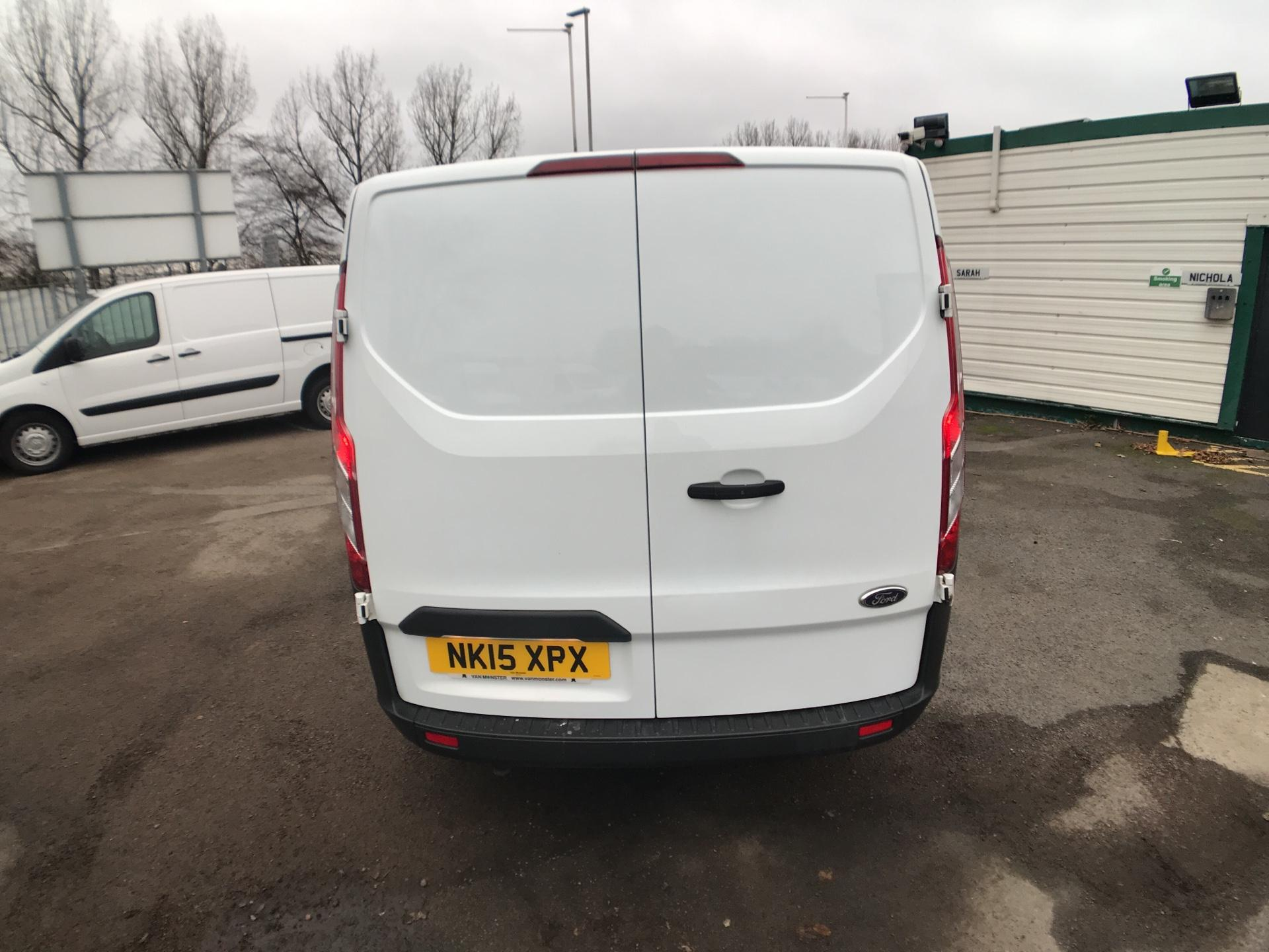 2015 Ford Transit Custom 290 L1 DIESEL FWD 2.2  TDCI 100PS LOW ROOF VAN EURO 5  (NK15XPX) Image 4