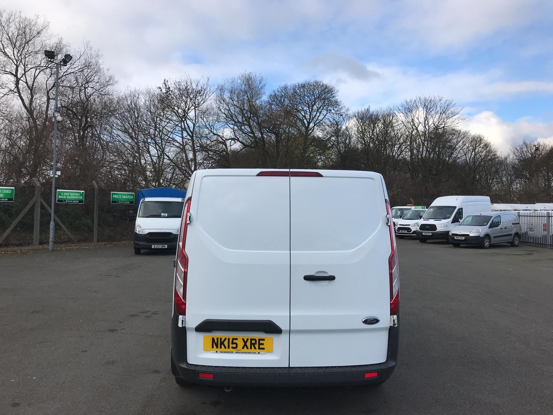 2015 Ford Transit Custom 290 L1 DIESEL FWD 2.2  TDCI 100PS LOW ROOF VAN EURO 5 *VALUE RANGE VEHICLE - CONDITION REFLECTED IN PRICE* (NK15XRE) Image 4