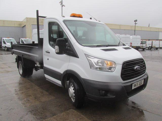 2015 Ford Transit 350 L2 SINGLE CAB TIPPER 125PS EURO 5 (NK15XRG)