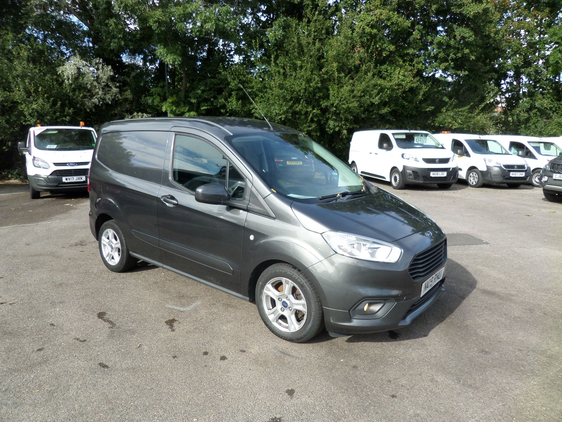 2019 Ford Transit Courier 1.5 Tdci 100Ps Limited Van [6 Speed] Euro 6 (NK19RHU)