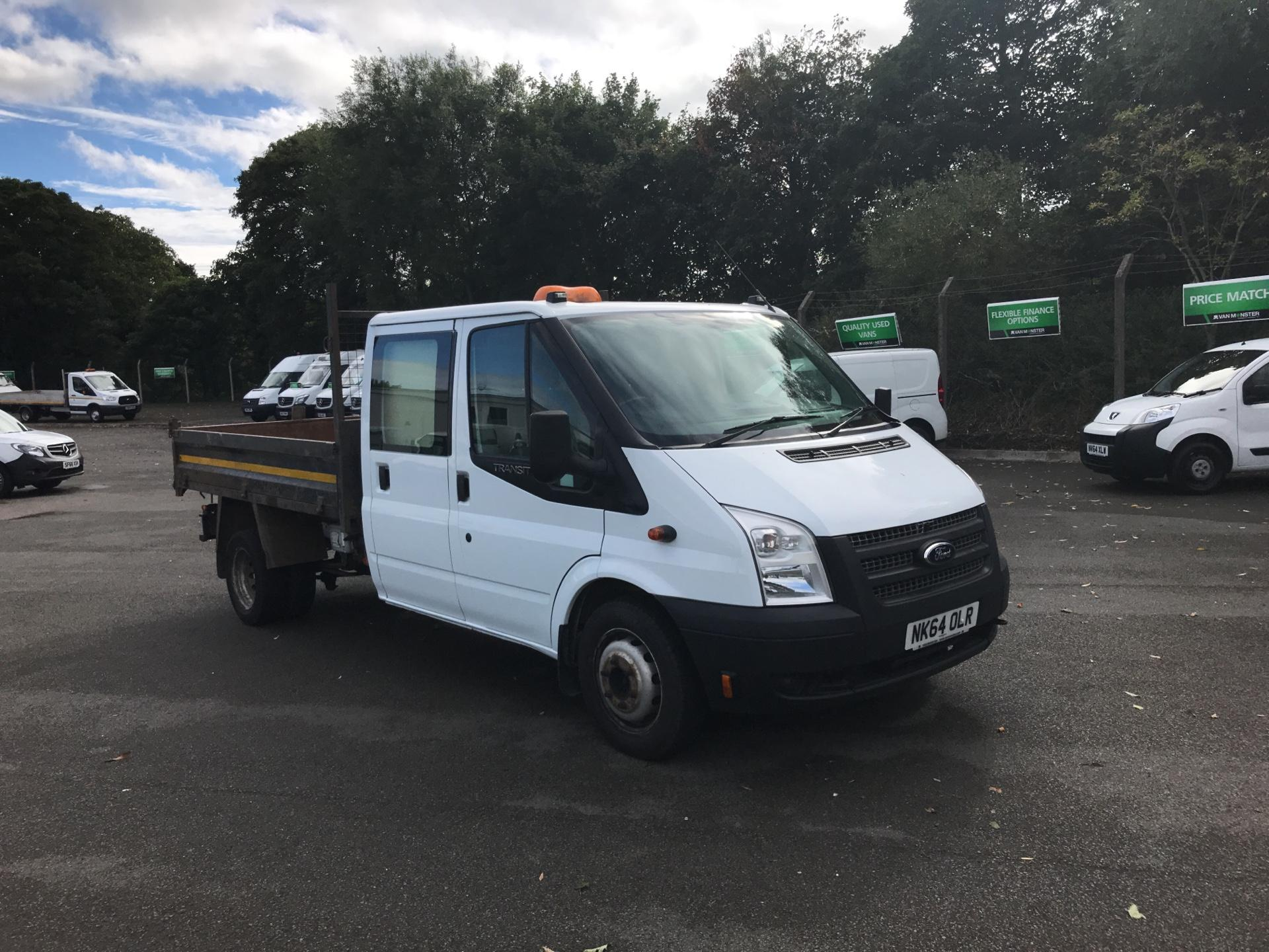 2014 Ford Transit T350 D/CAB TIPPER EURO 5 STORAGE CONVERSION *VALUE RANGE VEHICLE - CONDITION REFLECTED IN PRICE* (NK64OLR)