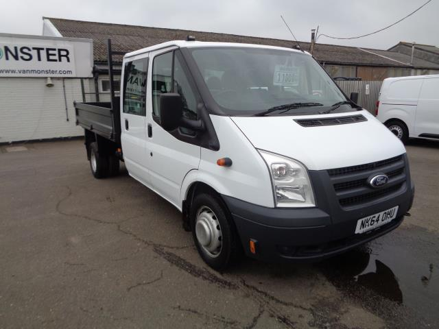 2014 Ford Transit D/Cab Tipper Tdci 100Ps [Drw] Euro 5 (NK64OMU)