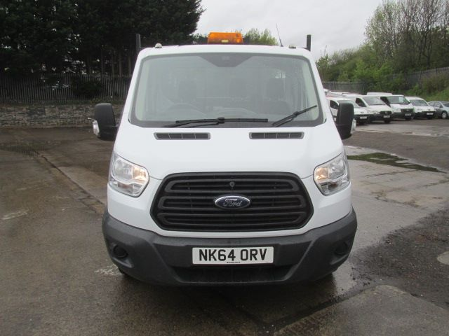 2014 Ford Transit 350 L2 SINGLE CAB TIPPER 100PS EURO 5 (NK64ORV) Image 18