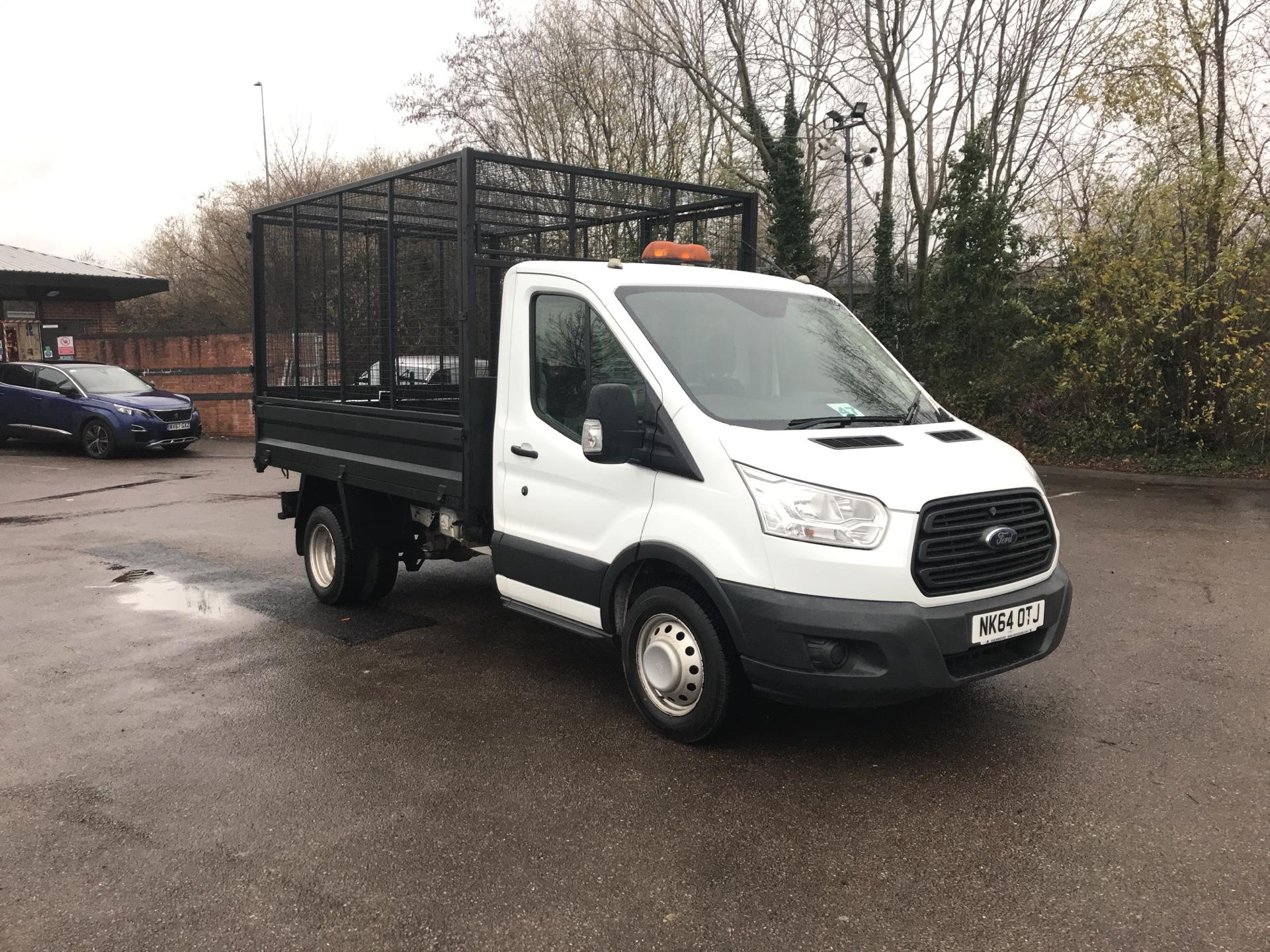 2014 Ford Transit  350 L2 SINGLE CAB CAGED TIPPER 100PS EURO 5 (NK64OTJ)