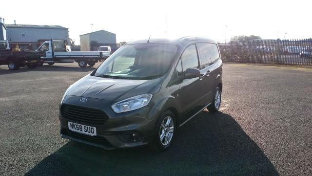2019 Ford Transit Courier 1.5 Tdci 100Ps Limited Van [6 Speed] (NK68SUO) Image 3