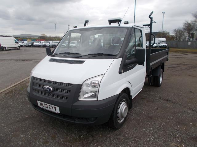 2013 Ford Transit Tipper [One way] One Stop Tdci 100Ps [Drw] Euro 5 (NL13CYV) Image 3