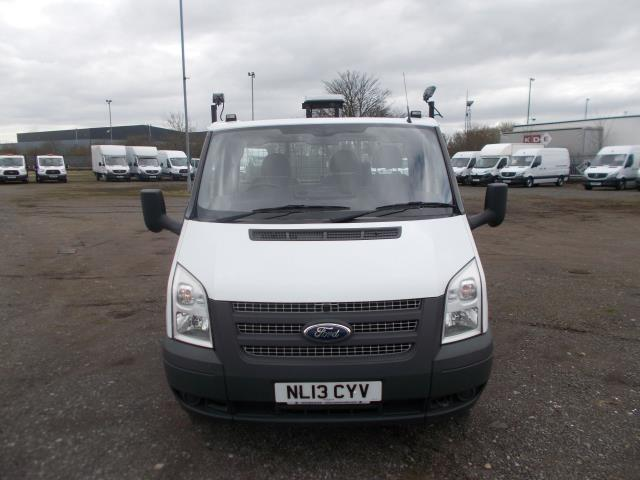 2013 Ford Transit Tipper [One way] One Stop Tdci 100Ps [Drw] Euro 5 (NL13CYV) Image 2