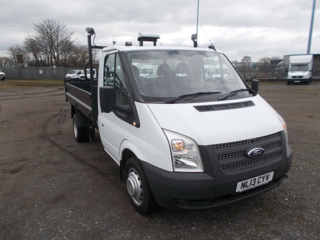 2013 Ford Transit Tipper [One way] One Stop Tdci 100Ps [Drw] Euro 5 (NL13CYV) Image 1