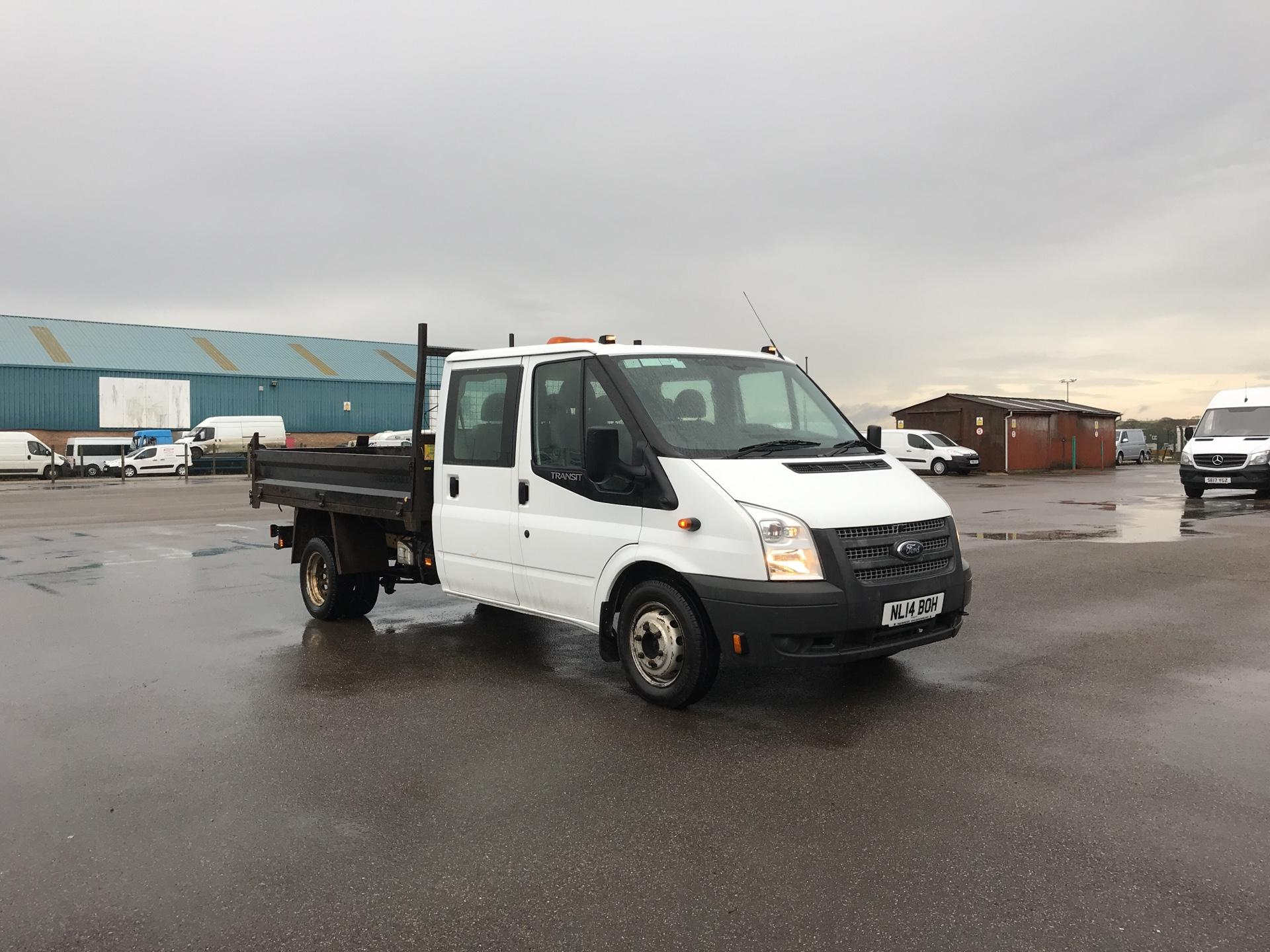 2014 Ford Transit T350 D/CAB TIPPER 100PS EURO 5 *VALUE RANGE VEHICLE - CONDITION REFLECTED IN PRICE* (NL14BOH)