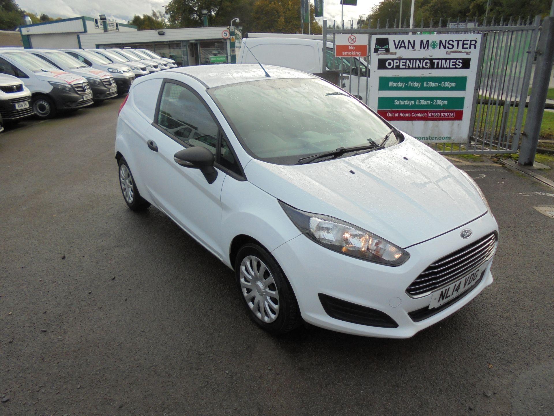 2014 Ford Fiesta  DIESEL 1.5 TDCI VAN EURO 5/6 (NL14VDG)