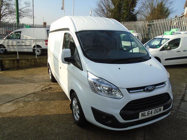 2014 Ford Transit Custom 2.2 Tdci 125Ps Low Roof Limited Van (NL64OGM)