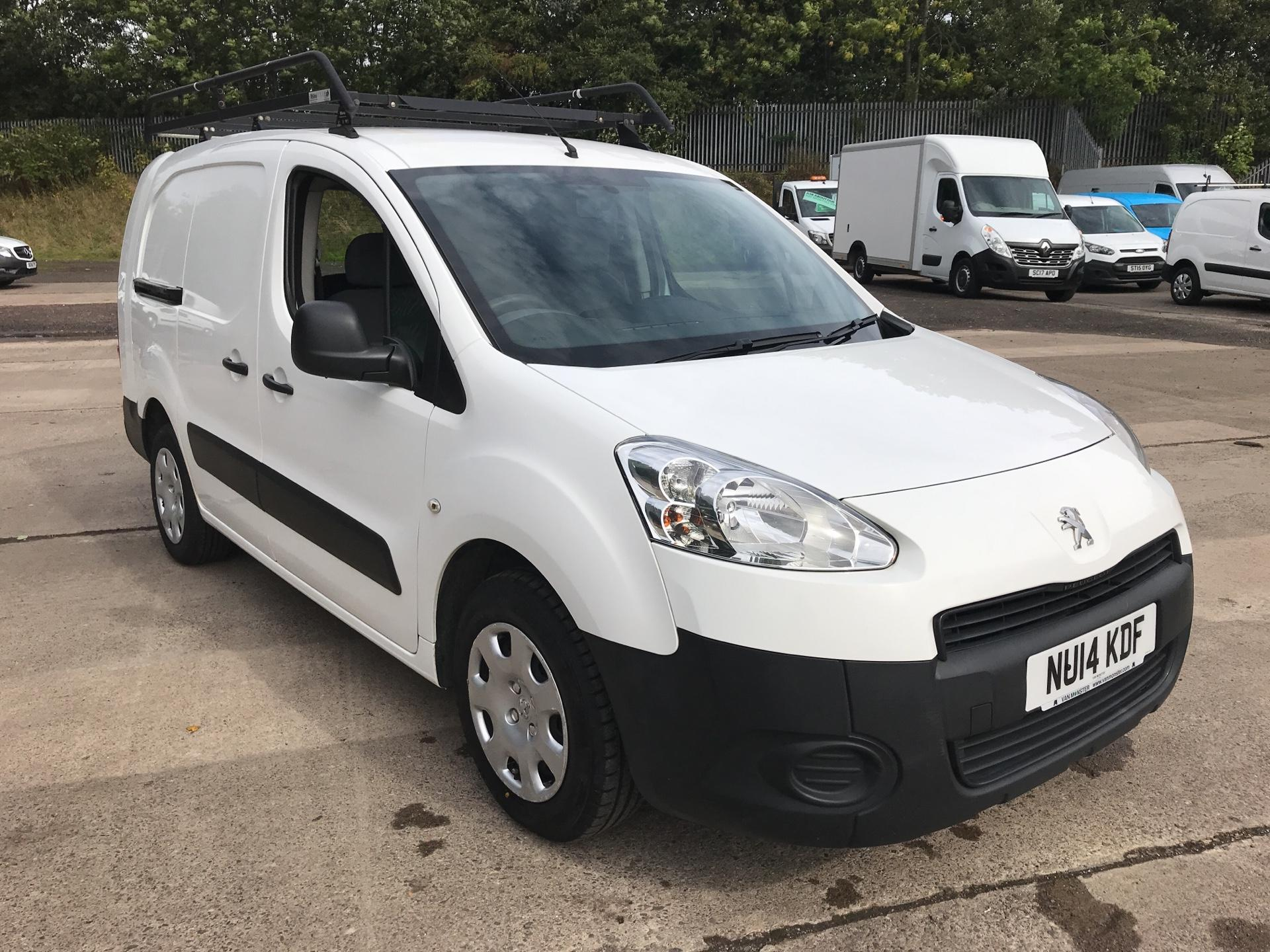 2014 Peugeot Partner L2 716 S 1.6 HDI 92PS CREW VAN EURO 5 (VALUE RANGE VEHICLE - CONDITION REFLECTED IN PRICE) (NU14KDF)