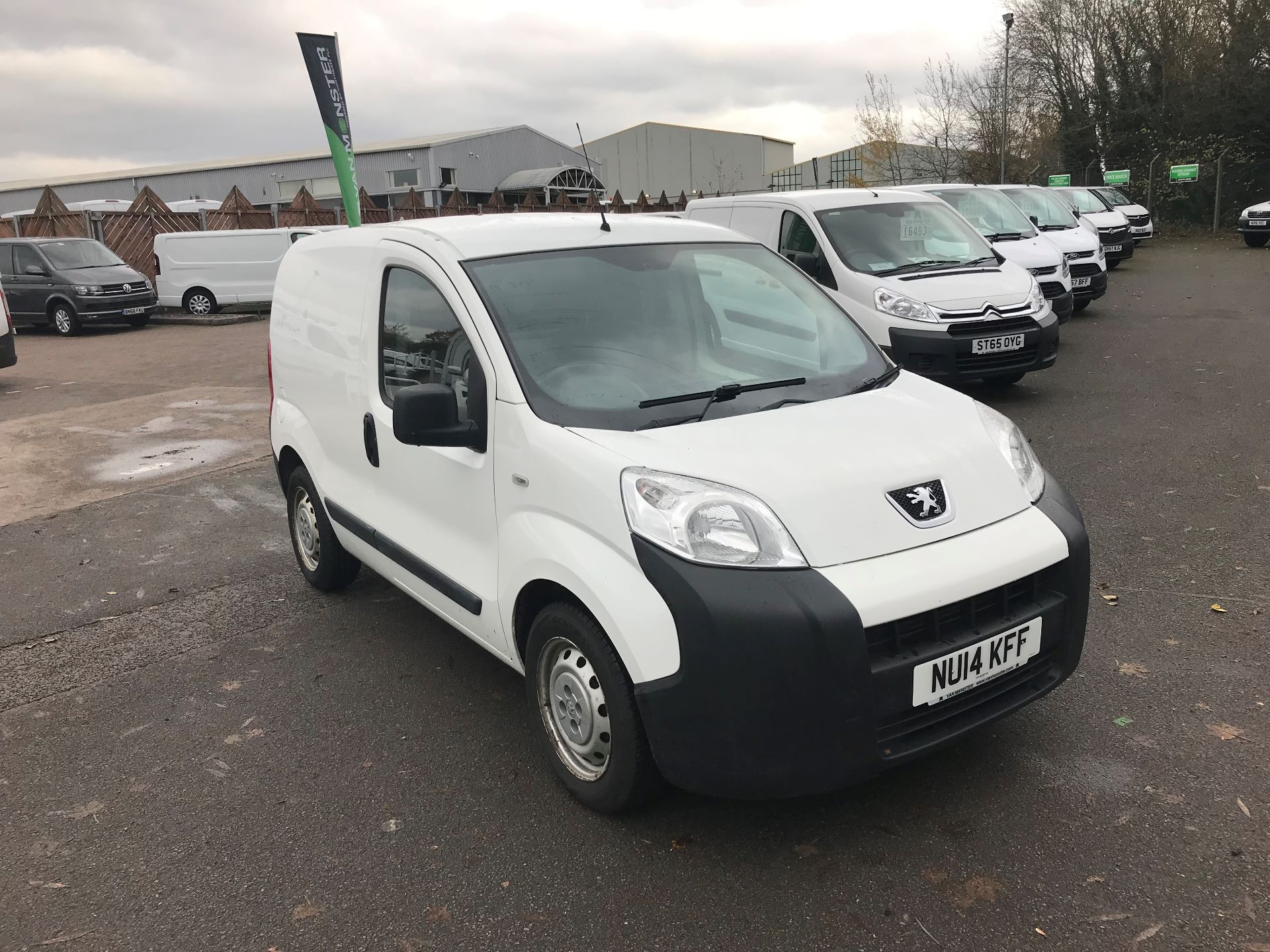 2014 Peugeot Bipper 1.3 HDI 75 S PLUS PACK NON S/S EURO 5 (NU14KFF)