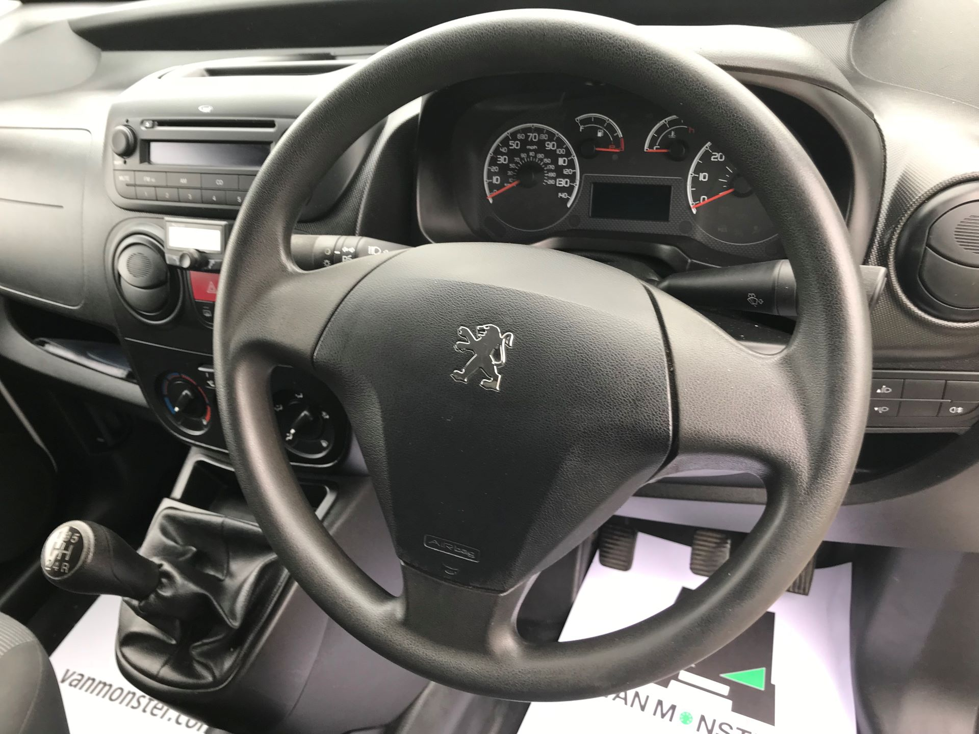 2014 Peugeot Bipper 1.3 HDI 75 S PLUS PACK NON S/S EURO 5 (NU14NPO) Image 23