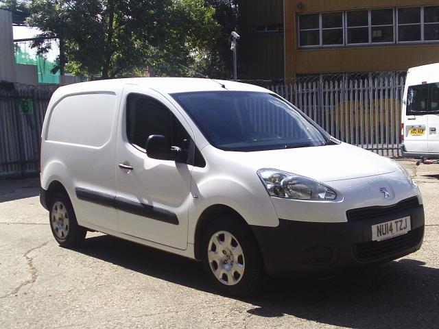 2014 Peugeot Partner L1 850S 1.6HDi 92PS Van Euro 5 (NU14TZJ)