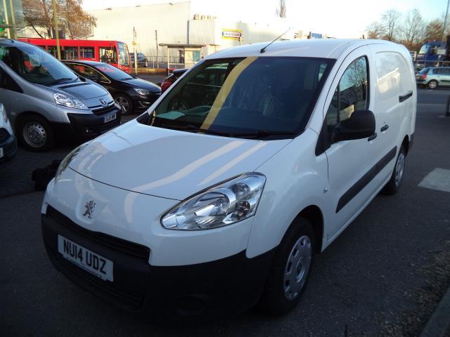 2014 Peugeot Partner 716 S 1.6 Hdi 92 Crew Van (NU14UDZ)
