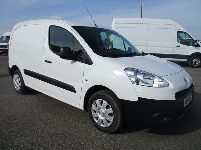 2014 Peugeot Partner L1 850 S 1.6 HDI 92 BHP VAN. VERY LOW MILEAGE (NU14XEN)