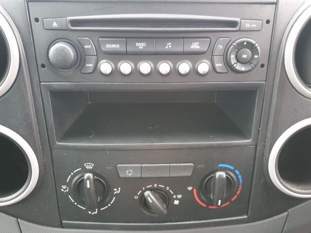 2015 Peugeot Partner L1 850 S 1.6 92PS (SLD) EURO 5 (NU15CGZ) Image 20
