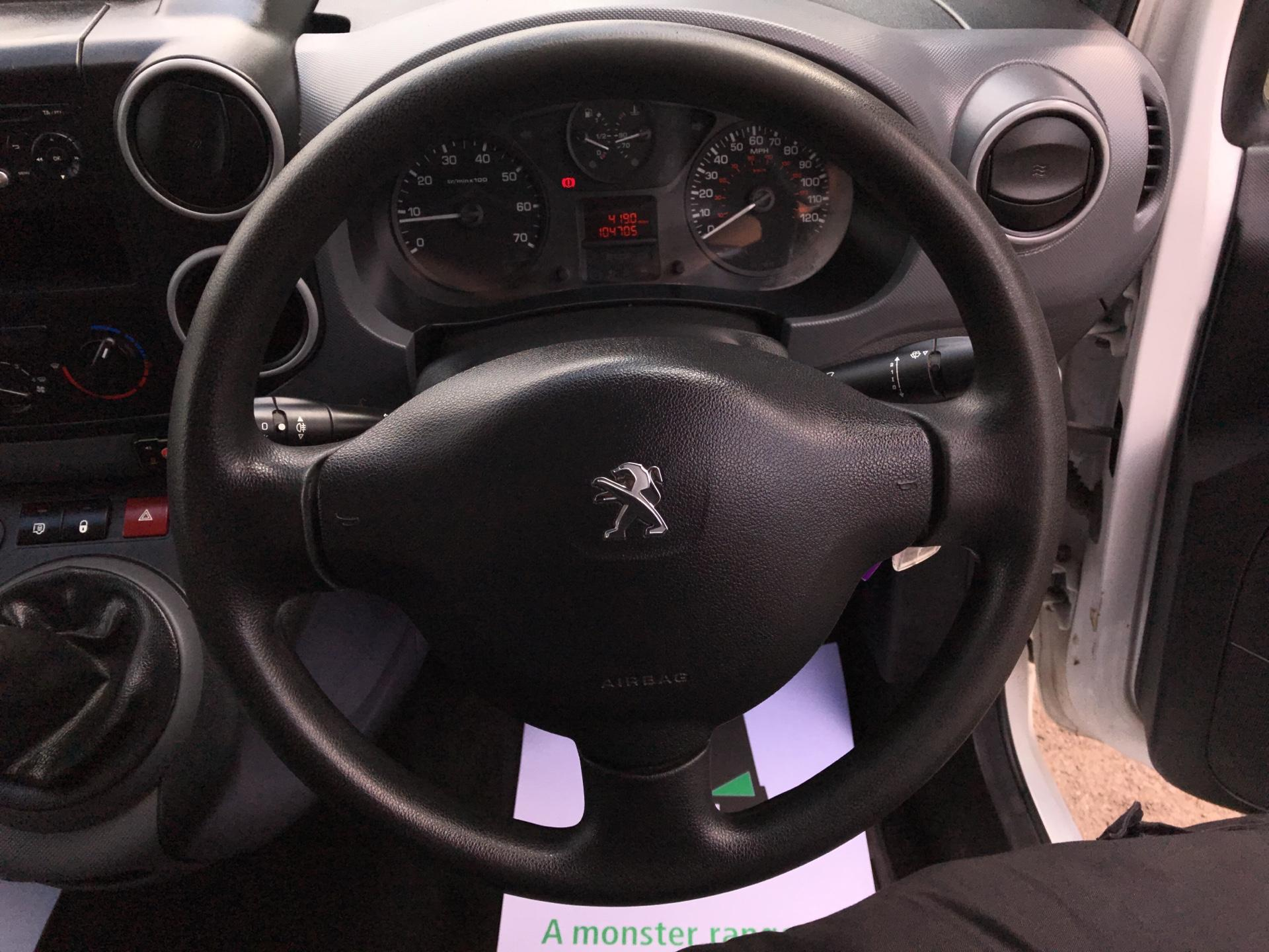 2015 Peugeot Partner L1 850 S 1.6 92PS (SLD) EURO 5 (NU15FHE) Image 12