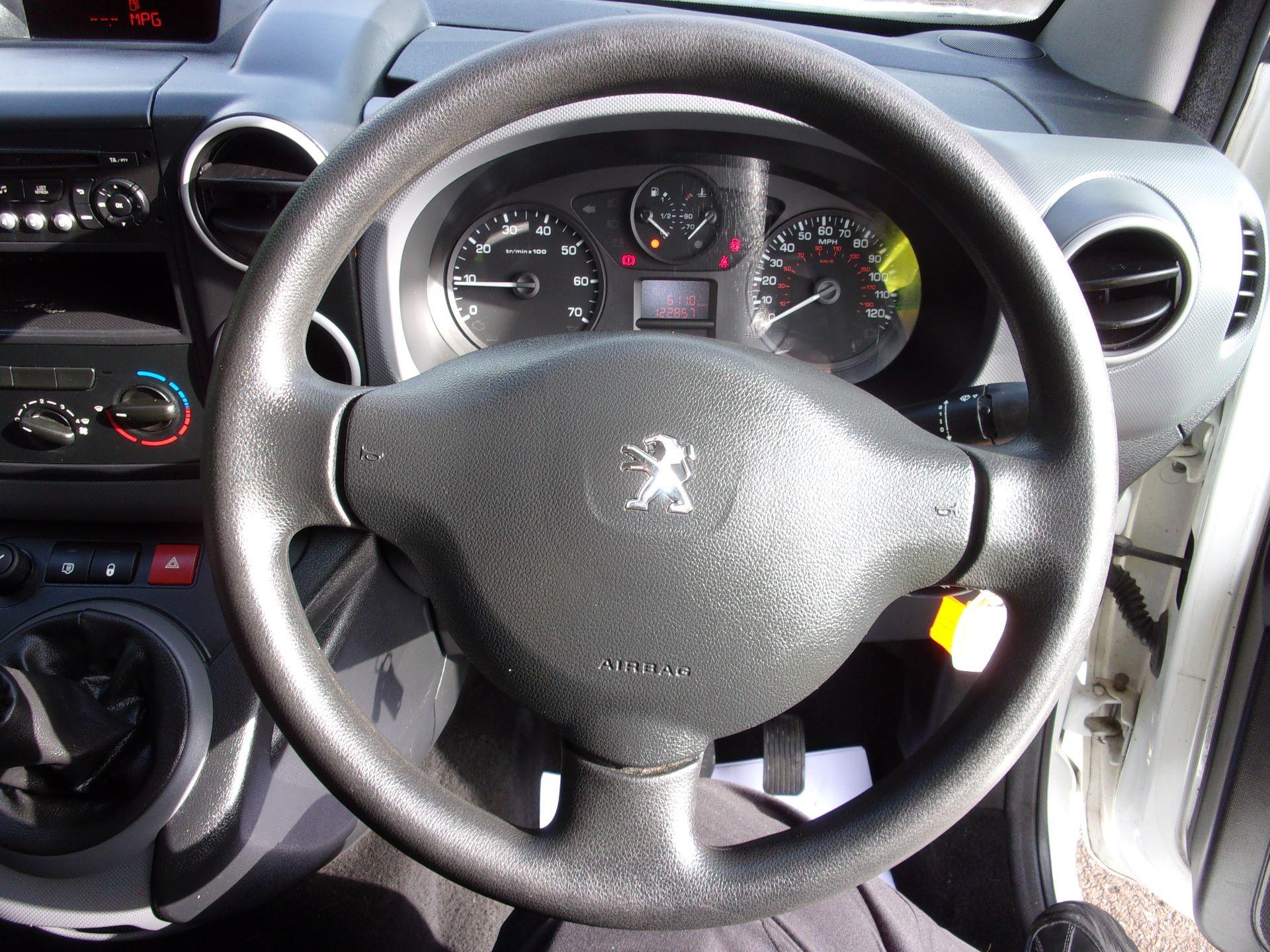 2015 Peugeot Partner 850 S 1.6 Hdi 92 Van [Sld] (NU15FJP) Image 5