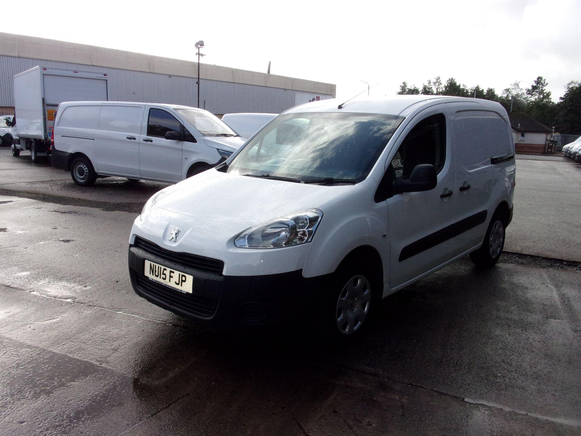 2015 Peugeot Partner 850 S 1.6 Hdi 92 Van [Sld] (NU15FJP) Image 14