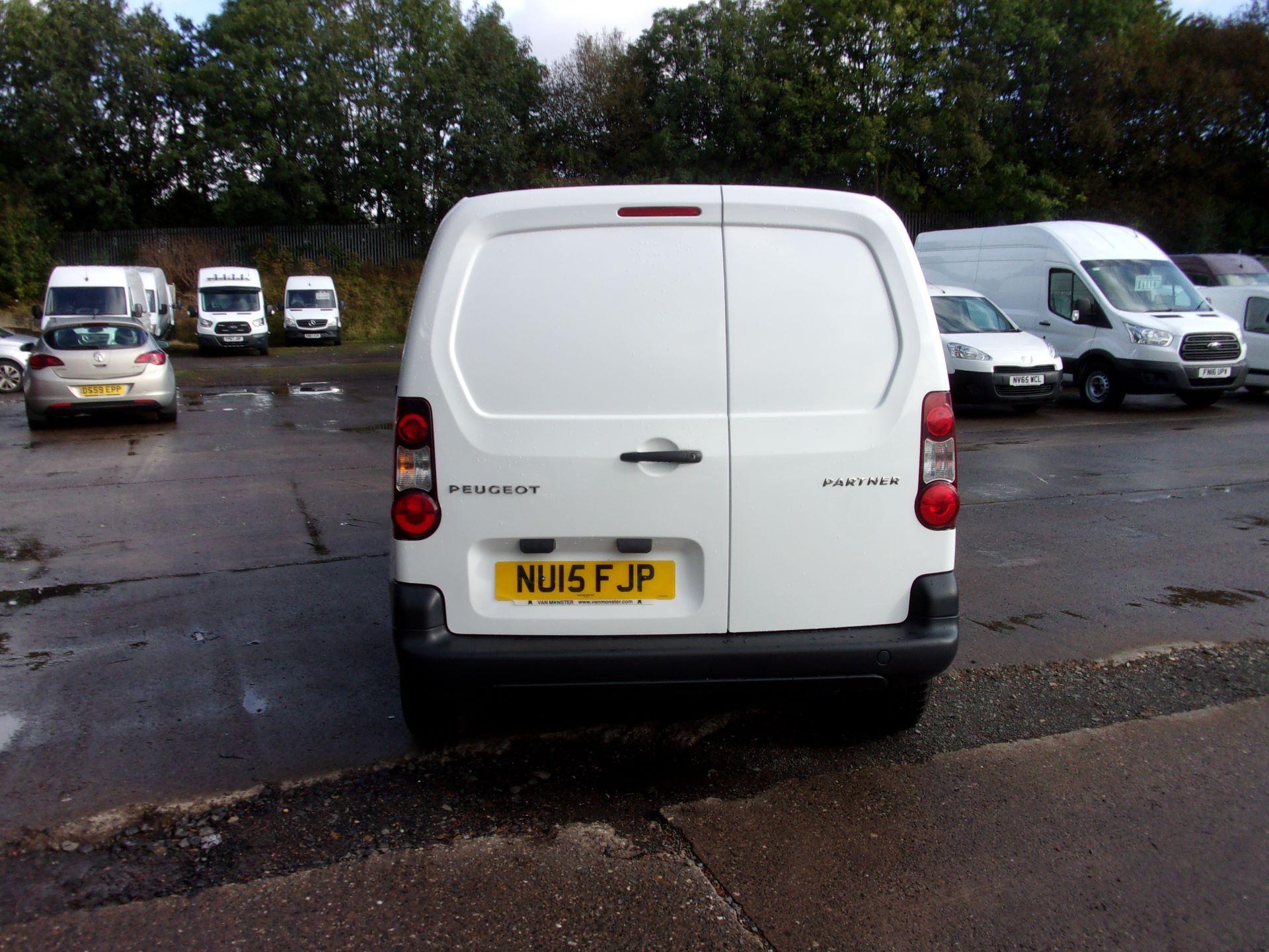 2015 Peugeot Partner 850 S 1.6 Hdi 92 Van [Sld] (NU15FJP) Image 10