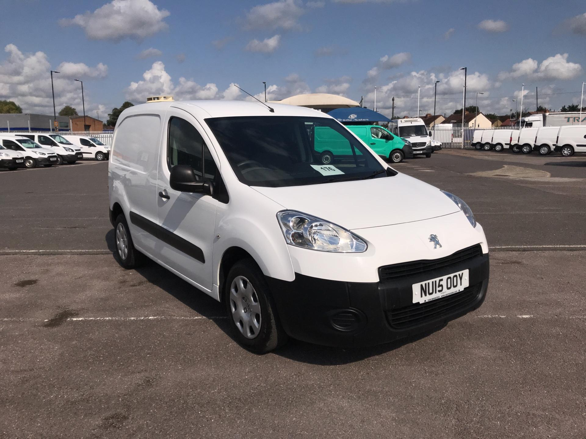2015 Peugeot Partner L1 850 S 1.6 92PS (SLD) EURO 5*VALUE RANGE VEHICLE CONDITION REFLECTED IN PRICE* (NU15OOY)