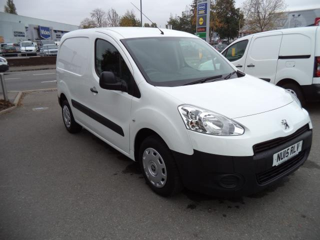 2015 Peugeot Partner L1 850 S 1.6HDI 92PS (SLD) EURO 5 (NU15RLV)