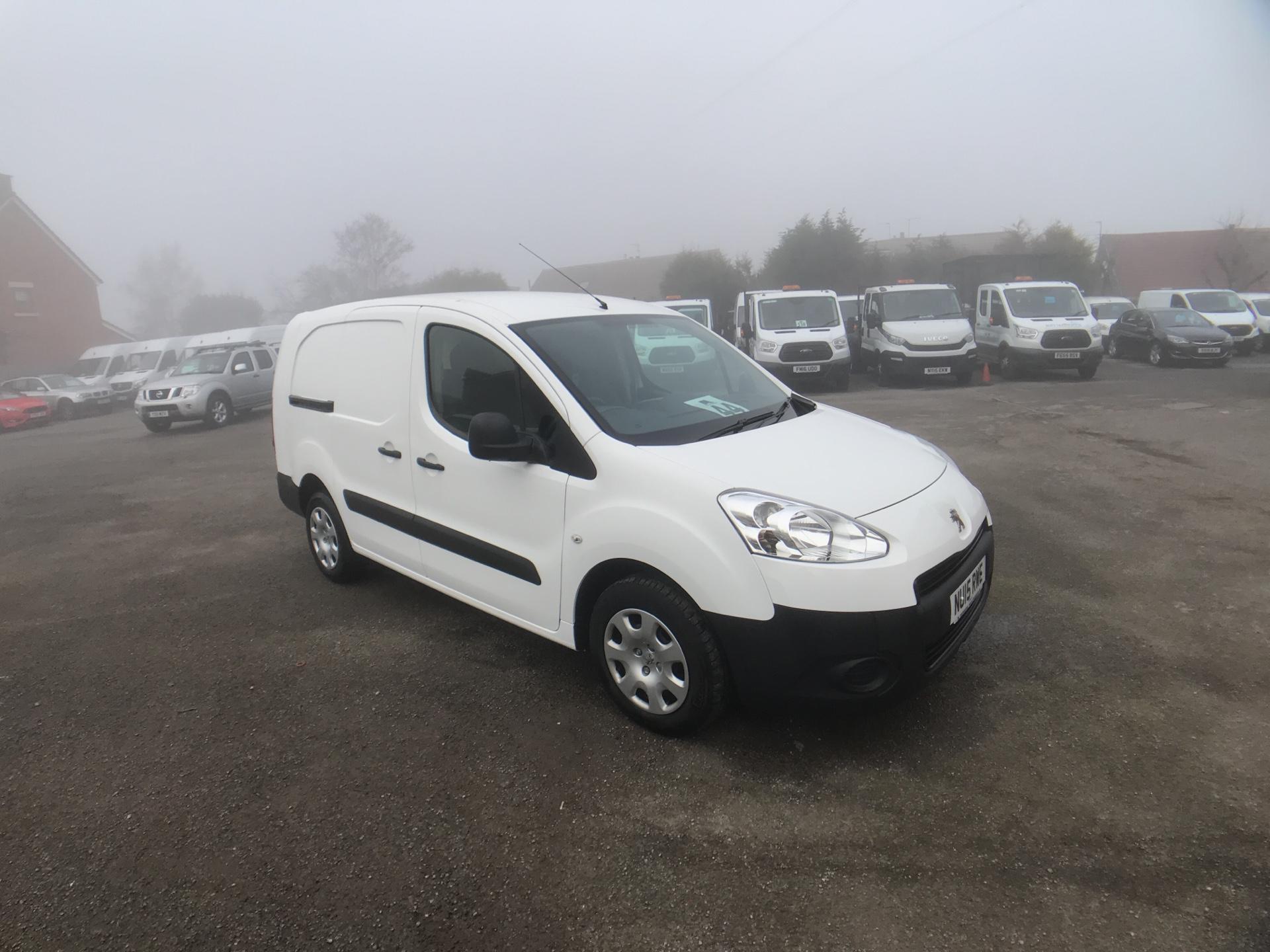 2015 Peugeot Partner L2 716 1.6 92 CREW VAN EURO 5 (NU15RWE)
