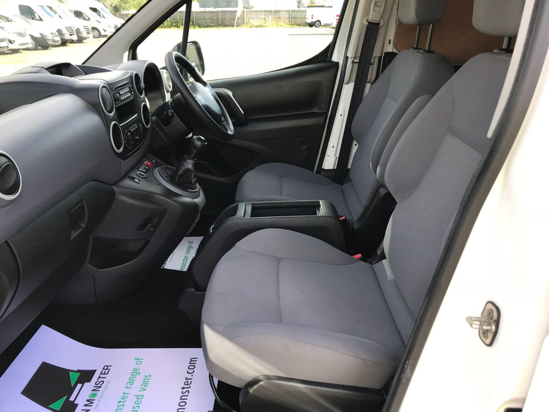 2015 Peugeot Partner 716 S 1.6 Hdi 92 Crew Van Euro 5 (NU15RWJ) Image 16